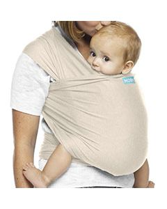 MOBY Wrap Evolution Bamboo - almond