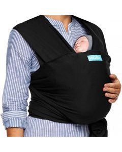 MOBY Wrap Evolution Bamboo - black