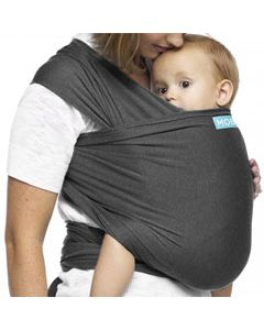 MOBY Wrap Evolution Bamboo - charcoal