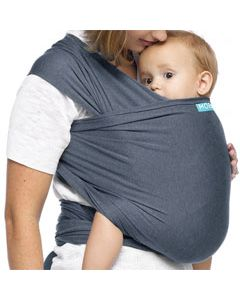 MOBY Wrap Evolution Bamboo - denim