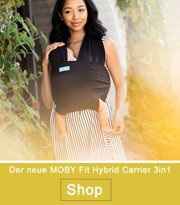 MOBY Fit Hybrid Carrier 3in1 Babytrage