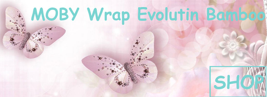MOBY Wrap Evolution Bamboo  neues Modell