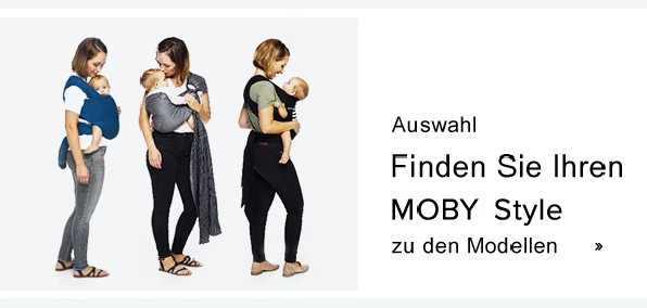 Moby Wrap Modelle